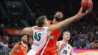 Highlights Ratiopharm Ulm vs Lokomotiv Kuban. Eurocup 30.11.2016