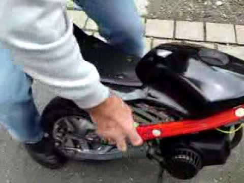 pocket bike probefahrt