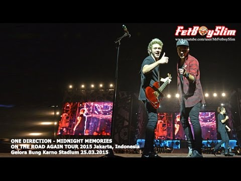 1d One Direction - Midnight Memories Live In Jakarta, Indonesia 2015 video