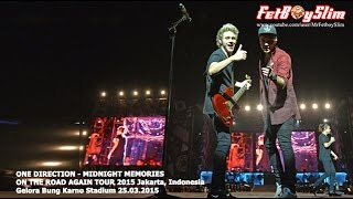 1D ONE DIRECTION - MIDNIGHT MEMORIES live in Jakarta, Indonesia 2015