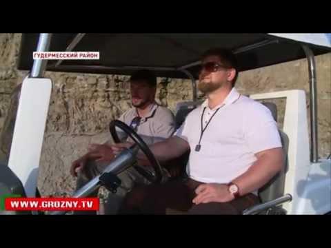 Рамзан Кадыров проверил ход строительства Международного центра по подготовке силовых структур