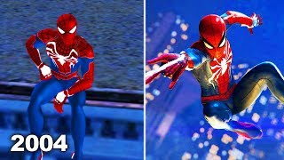 What if PS4 Spider-man was released in 2004