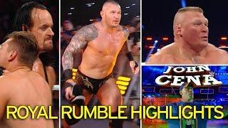 WWE Royal Rumble 2017 Randy Orton Wins WWE Royal Rumble 2017 30 Man Full Match