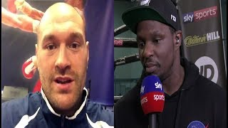 DILLIAN WHYTE BLASTS TYSON FURY OVER HIS DEONTAY WILDER AND ANTHONY JOSHUA COMMENTS!!