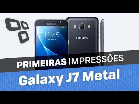 Samsung Galaxy J7 Metal [Primeiras Impressões]