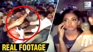 Tanushree Dutta's Car Attacked By Goons | Real Footage Of 2008 | LehrenTV
