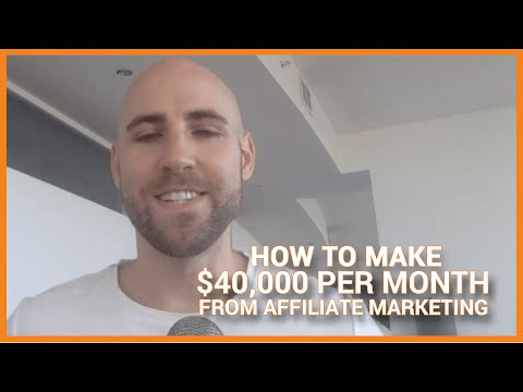 How To Make $40.000 Per Month From Affiliate Marketing With Mike From Maine