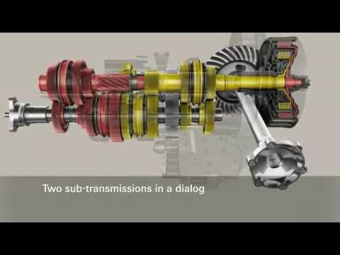 ZF Friedrichshafen AG   7-speed dual-clutch transmission