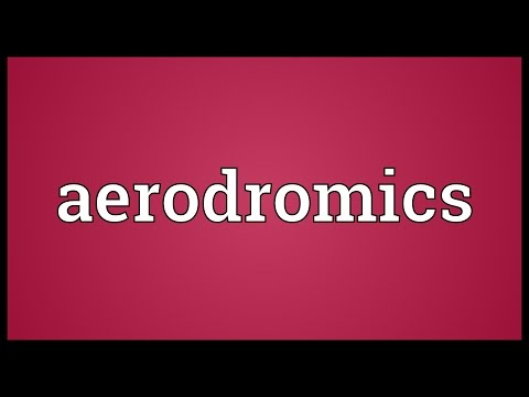 Header of Aerodromics