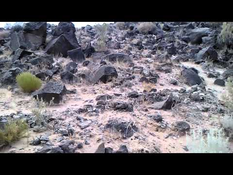 Hot Ass Hike Through The Petroglyphs Comment video