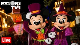 🔴Live: Mickey's Not So Scary Halloween Party at the Magic Kingdom in 1080p - 9-20-19