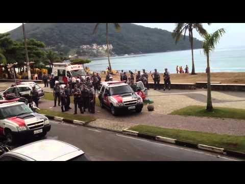 Final de Ano Caraguatatuba - Porrada - Ação Policial