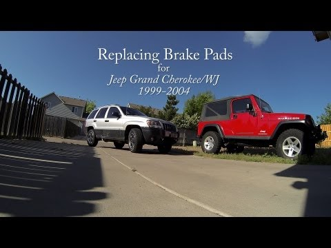 Replacing Brake Pads for Jeep Grand Cherokee/WJ: 1999-2004