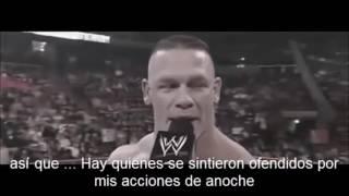 REFLEXION  Y MOTIVACION DE JHON CENA WWE