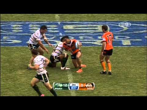 All the highlights from the Intrust Super Cup 2013 Round Three clash between Ipswich Jets and Easts Tigers at North Ipswich Reserve. Ipswich Jets - 28 Tries:...