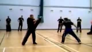Scott Adkins Power Side Kick