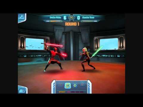 [Clone Wars Adventures] Lightsaber Duel #2 - Ahsoka Tano