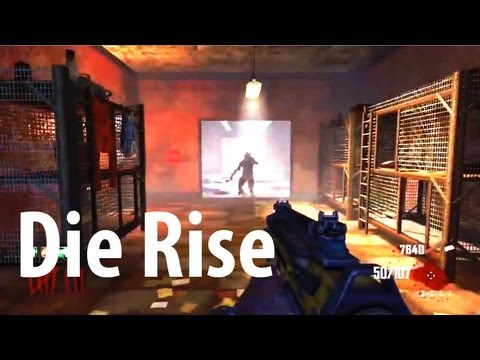 Ultimate Guide to Die Rise - Perks, Mystery Box Locations, All Buildabes(Black Ops 2 Zombies )