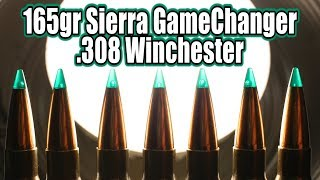 Sierra GameChanger 165gr in 308 Winchester