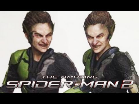Amazing spider man 2 green goblin