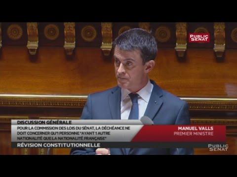 Révision constitutionnelle : Valls attaque le Sénat sur sa « posture »  Sauvegarder  Annuler