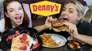 DENNY'S MUKBANG!! + Crazy Experiences at the Club!