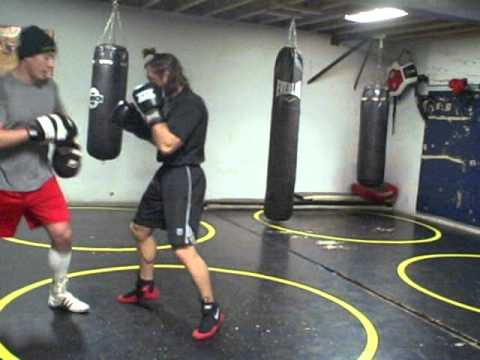 Lance Palmer counter punching drills