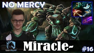 Miracle - Tiny MID | NO MERCY + RAMPAGE | Dota 2 Pro MMR Gameplay #16
