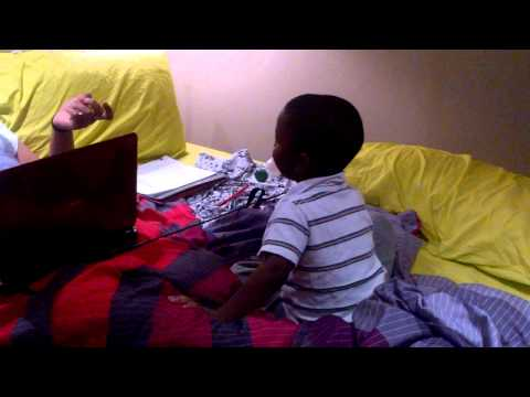 Lol: 3 Year Old Cussing His Aunty video