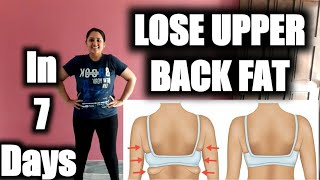 BURN BACK FAT No Equipment Workout | Reduce Upper back fat || Easy Home Exercises to Reduce Back Fat