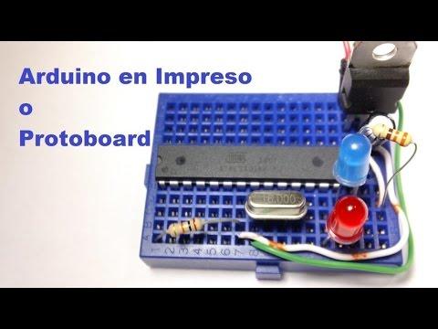 Tutorial: Bootloader ATMega328 8 MHz - YouTube
