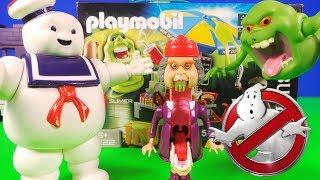 👻 nieuwe ghostbusters playmobil toys 9222 - hotdogverkoper & Slimere geest