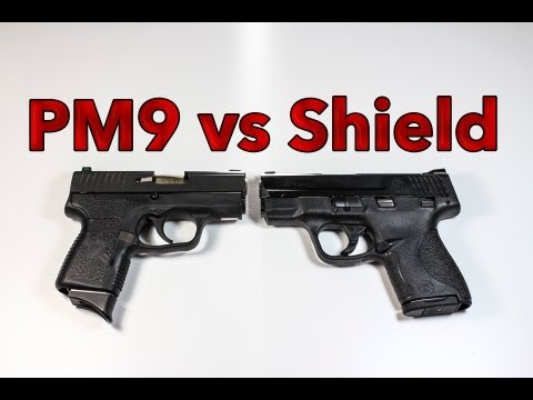 Smith & Wesson M&P Shield vs Kahr PM9
