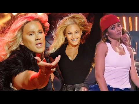 Channing Tatum vs Jenna Dewan-Tatum EPIC Lip Sync Battle w/ BEYONCE