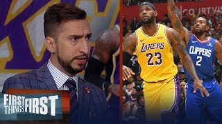 LeBron is clearly better than Kawhi & arguably best player in basketball | NBA | FIRST THINGS FIRST