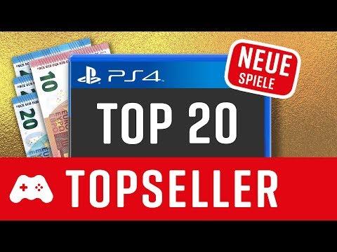 TOP 10 ► PS4 Topseller ► Neue Spiele 2019 / 2020