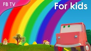 The Rainbow Color Song from Funny Bunny TV
