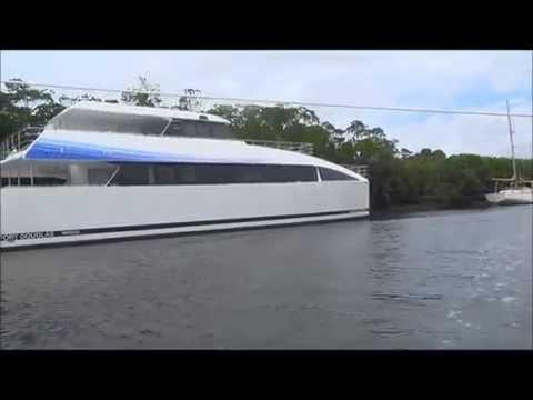 Cyclone Ita - Marina evacuation - Port Douglas 2014
