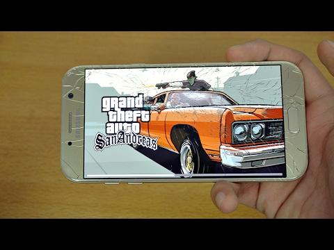 Samsung Galaxy A7 (2017) Gaming Review GTA San Andreas! (4K)