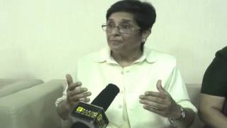 Exclusive chat With former IPS Kiran Bedi on self defense