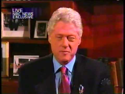 NBC- Interview with Bill Clinton 9-18-01