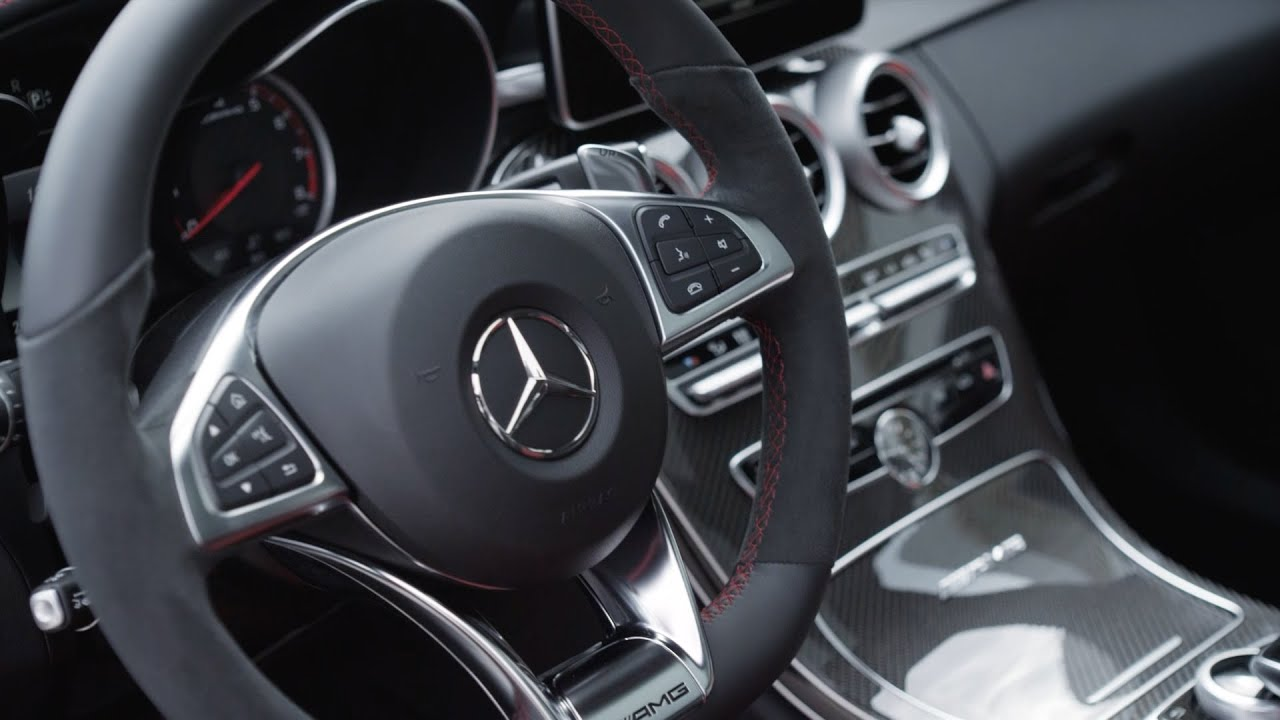 2015 mercedes c63 amg interior youtube for Artico interieur