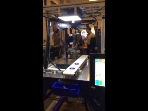 Omron Vision Guided Delta Robot at OS3