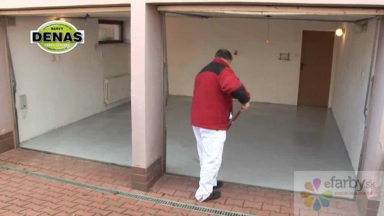 Ako natriet betonovu podlahu v garazi alebo pivnici? - YouTube