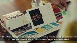 Pub Mcdonald's Lucky Summer Le jeu Mcdo de l'été - Drole de pub