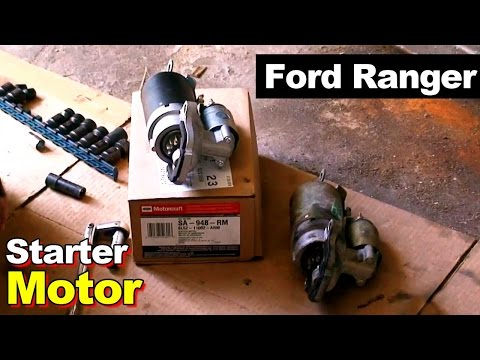 2003 Ford Ranger Starter Motor Replacement
