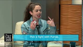 The Hilarious Chevel Shepherd Plays Speak Out