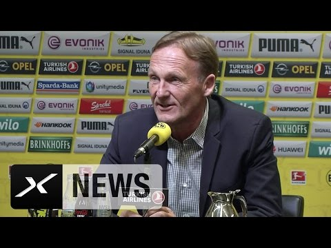 BVB-Boss Hans-Joachim Watzke: Sepp-Blatter-Rücktritt