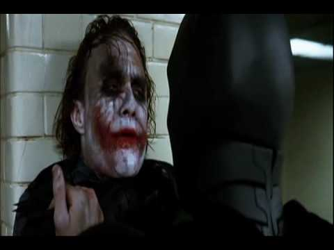 Heath Ledger's Joker: They're Coming To Take Me Away Haha!