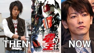 Then And Now Kamen Rider Den O Cast